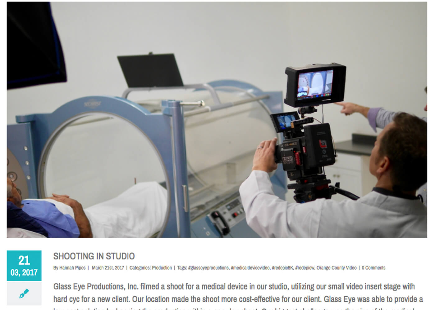 Video Website | Embed Video | Video Production | Glass Eye